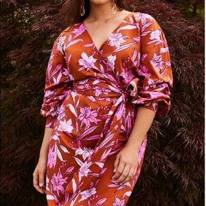 ELOQUII floral dress